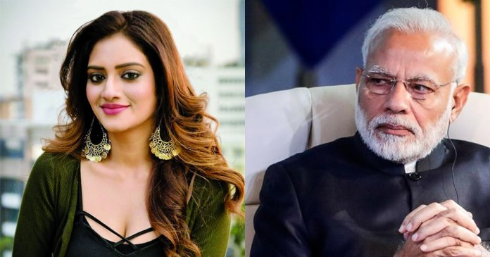 You have failed the vibrant young minds of the nation trinamool mp nusrat jahan attacks pm modi on unemployment
