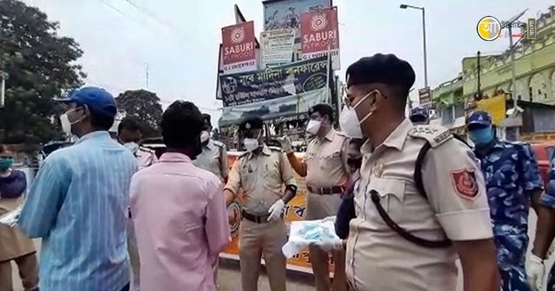 birbhum police raksha bandhan program 5