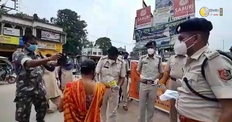 birbhum police raksha bandhan program 6