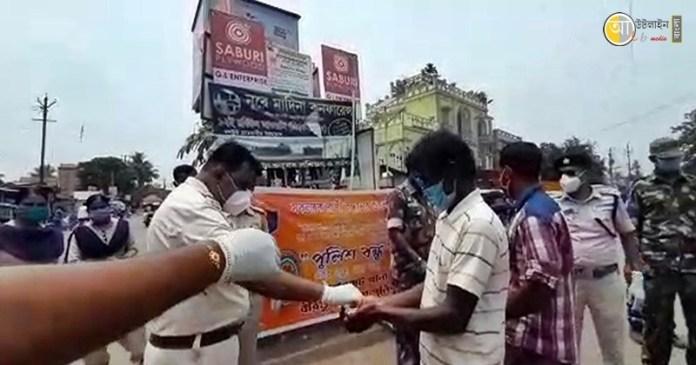 birbhum police raksha bandhan program 8