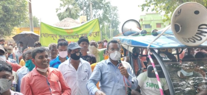 2,000 indigenous people protest over various demands