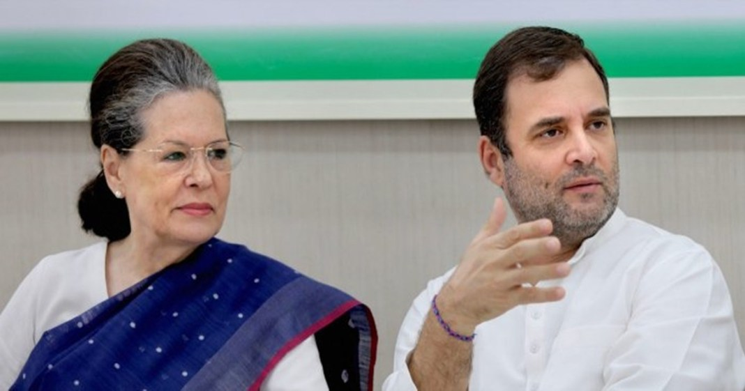congress president Sonia Gandhi leaves for medical check up abroad with Rahul