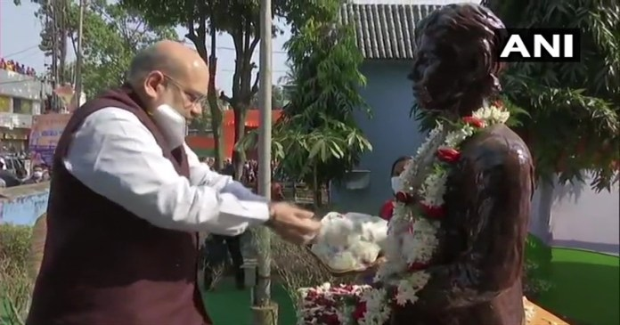 Freedom fighter Khudiram Bose is the pride of not only Bengal but the whole country, said Amit Shah