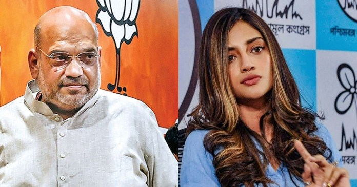 The BJP leaders and ministers are only Bengal tourists, tweeted Nusrat