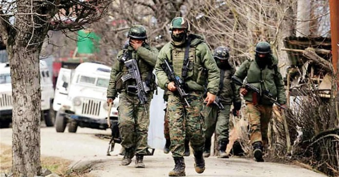 success of the joint forces, a jihadi killed in Kashmir