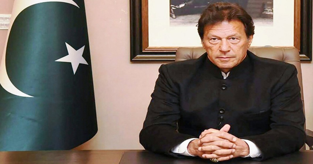 Prime Minister Imran Khan said India backs ISIS to spread anarchy in Pakistan
