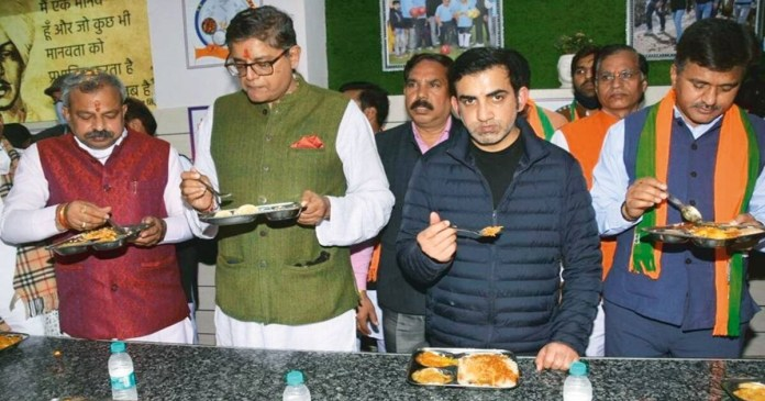 Gambhir New canteen to serve lunch at Re 1