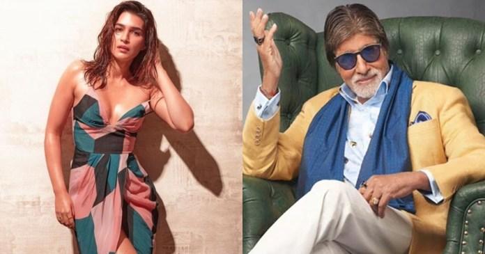 Amitabh Bachchan's comment on Kriti Sanon's photos