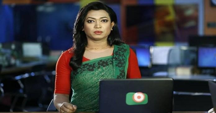 Tashnuva Anan Shishir, the first transgender newsreader in Bangladesh