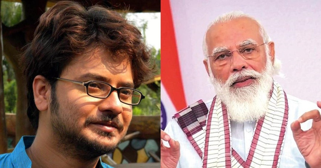 tollywood actor rahul arunoday banerjee criticises pm narendra modi