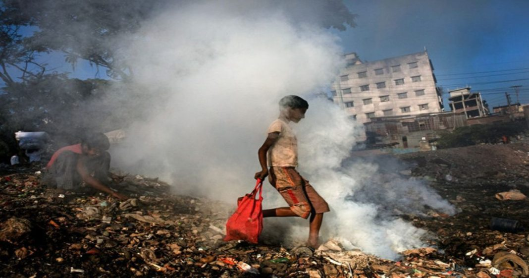 Huge mysterious plumes of methane gas spotted over Bangladesh