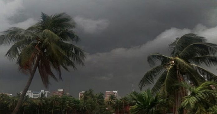 weather forecast chance of rain or thundershower in kolkata and south bengal in 48 hours