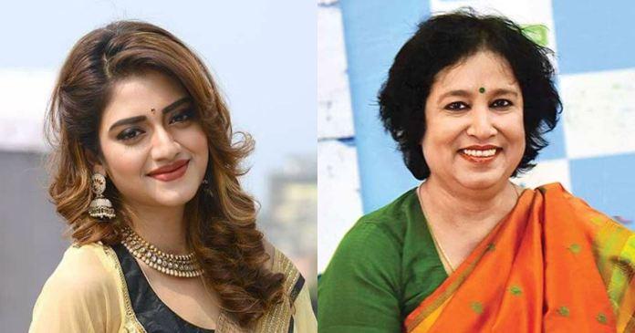 Taslima Nasrin stood by Nusrat jahan through her Facebook post