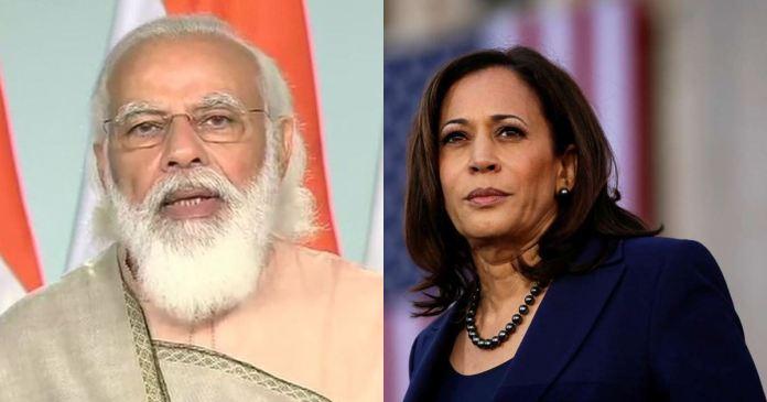 US Vice-President Kamala Harris Calls PM Modi on assures on Covid vaccine supply to India