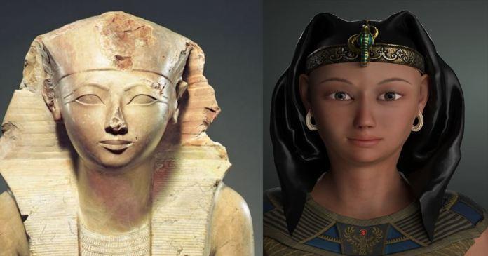 Hatshepsut ruled Egypt