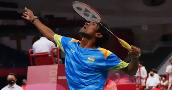 Promod Bhagat wins badminton gold at the Tokyo Paralympics