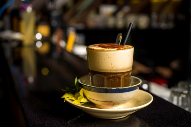 The Vietnamese egg cream coffee is a Hanoi specialty that was whipped up during times of the French war, when dairy was in short supply