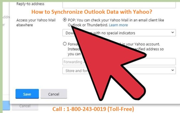 Synchronize Outlook Data with Yahoo