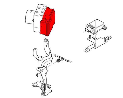 MINI Cooper Brake Hydro Unit ACS Repair Kit 34526787635