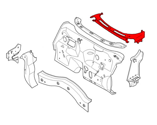 41207137951 MINI Cooper Replacement Windshield Cover