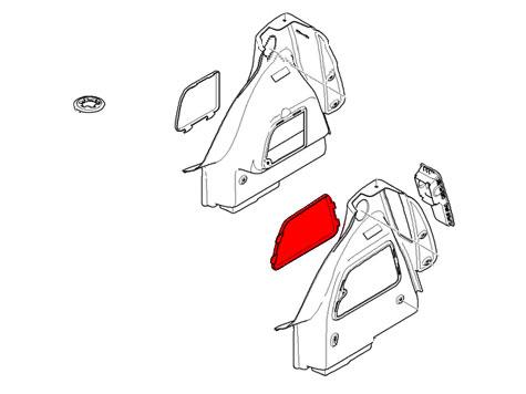 51412752967 MINI Cooper Replacement Trunk Trim: Left Cover