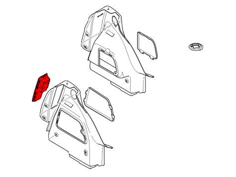 51472752257 MINI Cooper Replacement Trunk Trim: Storage