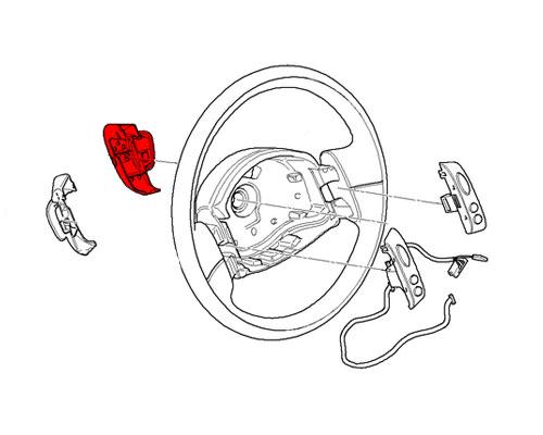 61311172233 MINI Cooper Replacement Steering Wheel: Radio