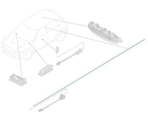 63319808057 MINI Cooper Replacement Fiber Optical