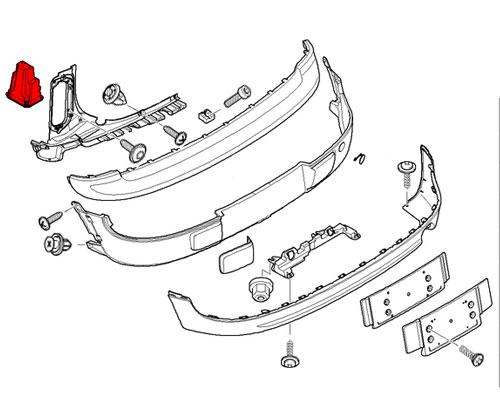 64226976991 MINI Cooper Replacements Ventilation: Rear