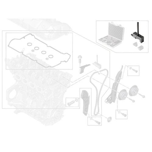 83302354983 MINI Cooper Replacement Timing Chain Repair