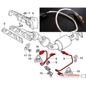 MINI Cooper O2 Sensor Oxygen Sensor  MINI Cooper Accessories  MINI Cooper Parts