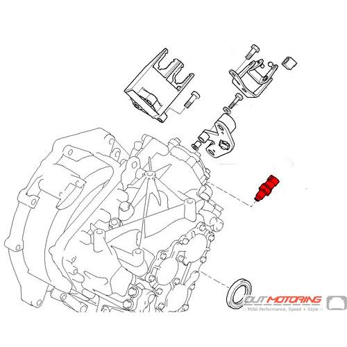 MINI Cooper Replacement Sensor Backup Revese Switch