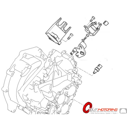 MINI Cooper Replacement Manual Transmission Gasket