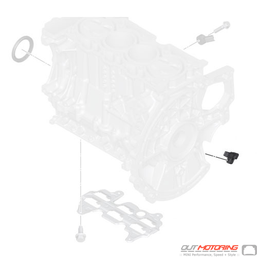 13627561753 Cooper MINI Replacement Engine Block Mounting