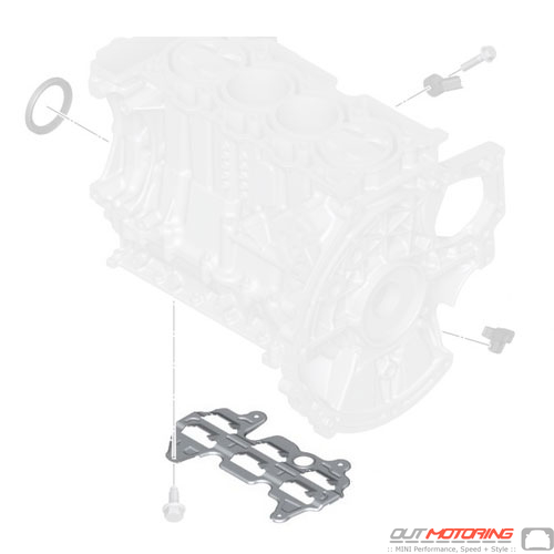 11137579017 Cooper MINI Replacement Engine Block Mounting
