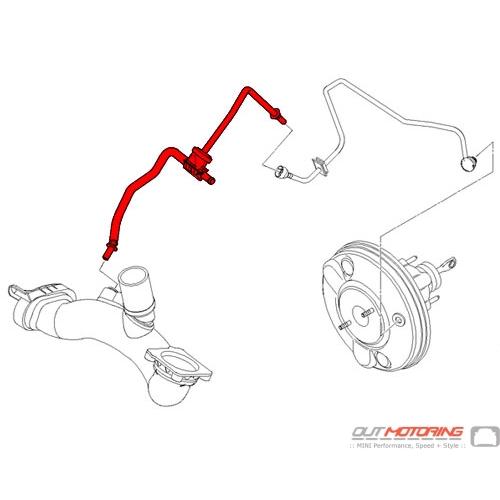 11667550007 MINI Cooper Replacement Suction Vacuum Pump