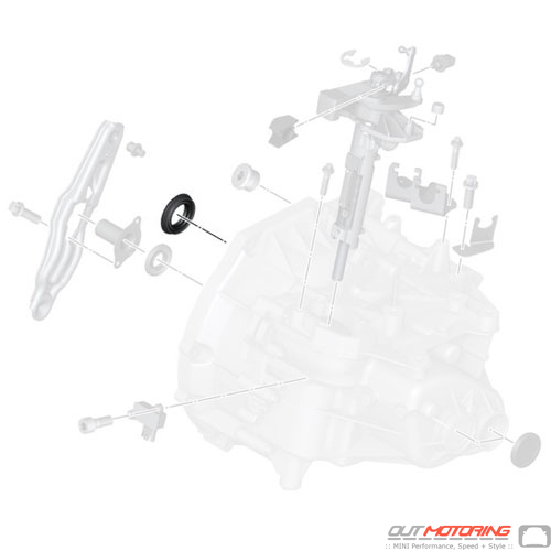 23117545082MINI Cooper Replacement Shaft Seal Output