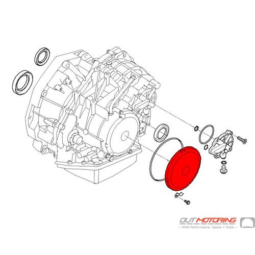 24117573537 MINI Cooper Replacement Cover: Automatic