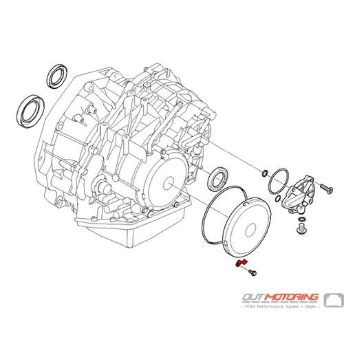 24277520145 MINI Cooper Replacement Clip: Automatic