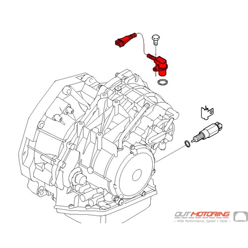 24357518732 MINI Cooper Replacement Rotational Speed