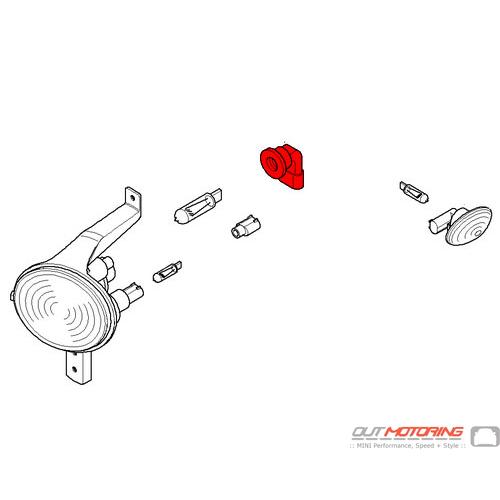 63127169480 MINI Cooper Replacement Turn Indicator Bulb