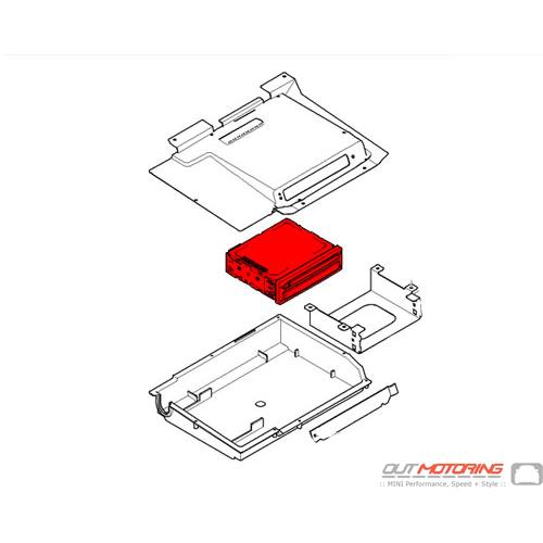 65909176685 MINI Cooper Replacement Navigation Computer