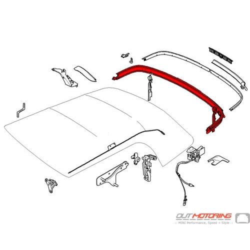 54342758524 MINI Cooper Replacement Convertible Folding