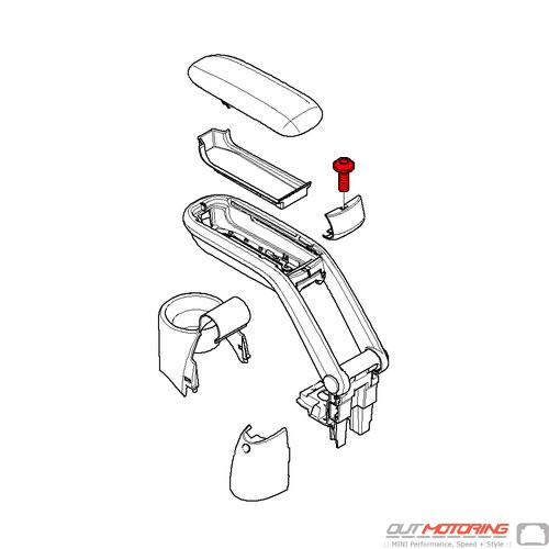 07140393431 MINI Cooper Replacement Fillister Head Screw