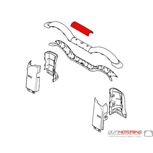 51432757928 MINI Cooper Replacement Rollover Bar Center