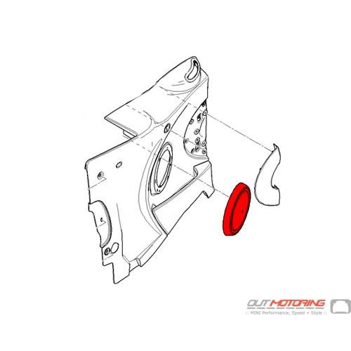51412757983 MINI Cooper Replacement Cover: Loudspeaker