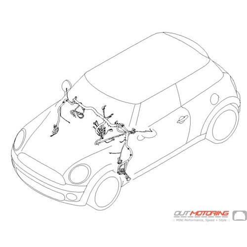 61113457174 MINI Cooper Replacement Instrument Panel