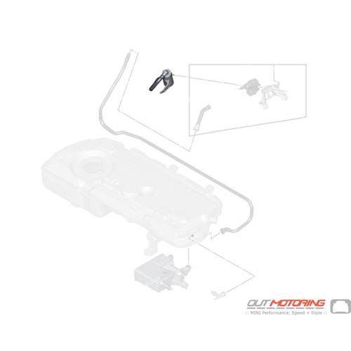 16119811656 MINI Cooper Replacement Vent Pipe w/ Dust