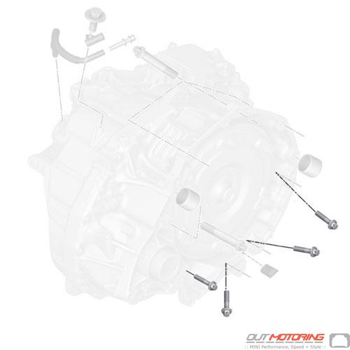 07119907836 MINI Cooper Replacement Star-Socket Screw