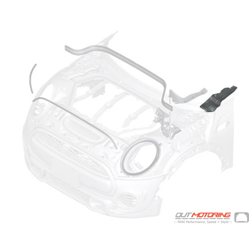 51767297241 MINI Cooper Replacement Wheelhousing Seal